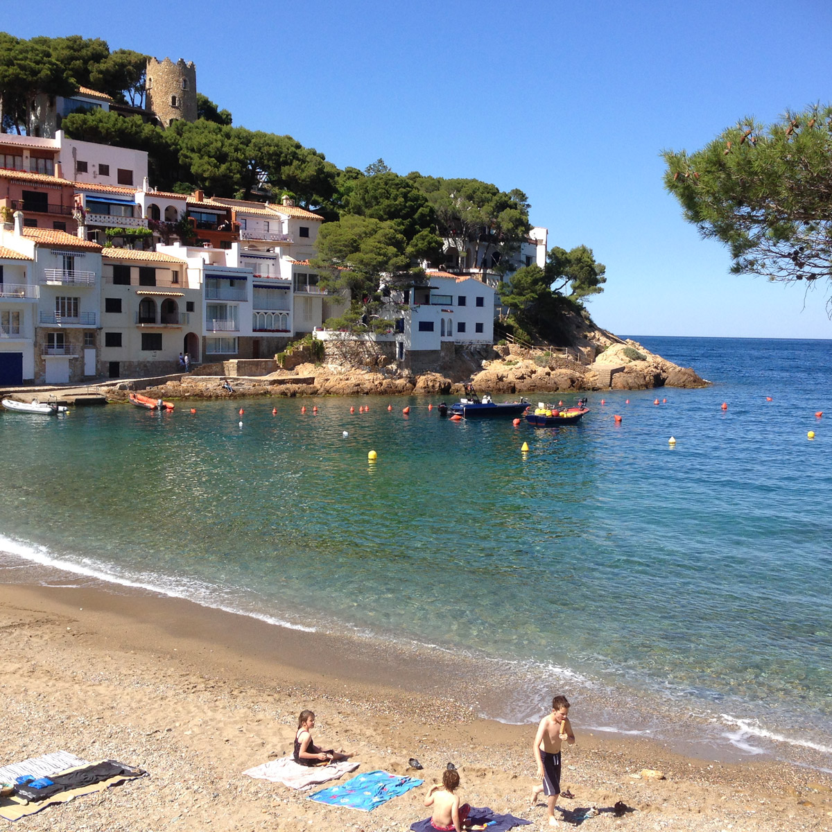 One of the most beautiful coves of the Costa Brava.